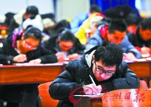 2013年研究生考试初试将比往年提前。