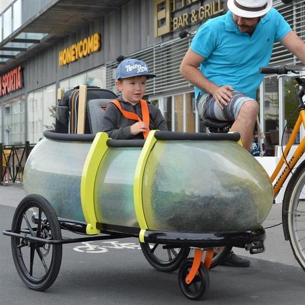 买菜神器!有了它 自行车瞬间变多功能三轮车