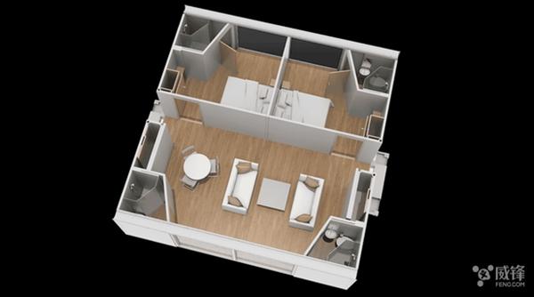 神奇的模块化房屋:只要10分钟你就有套自己的房子