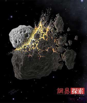 木卫四的外壳爆炸后会产生大量危险的彗星