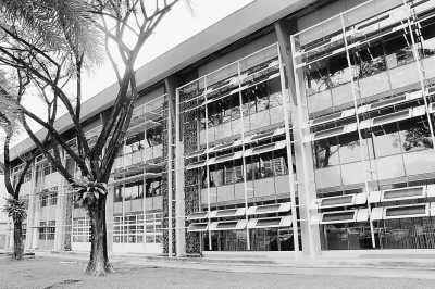 东南亚地区首座由既有建筑改建而成的零能耗建筑外观。