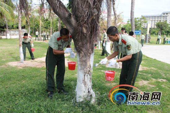 """""""蓝丝带""""三亚文明大行动:上千人倡议保护环境"""