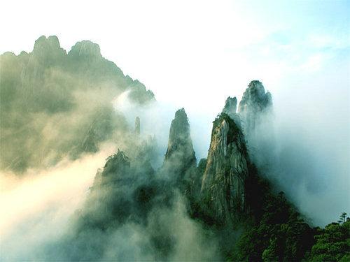 黄山云海绝景