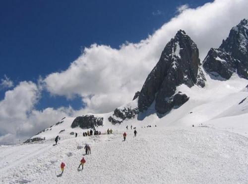 神农架滑雪