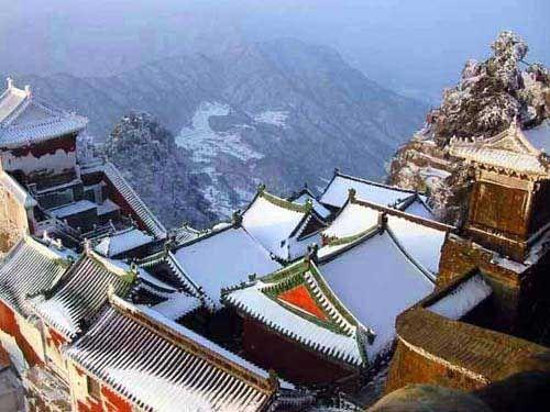 武当山雪景