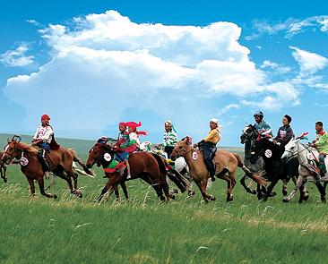 蒙古族过春节