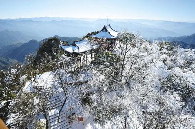 大风堡雪景
