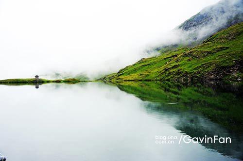 水平如镜,心静如水