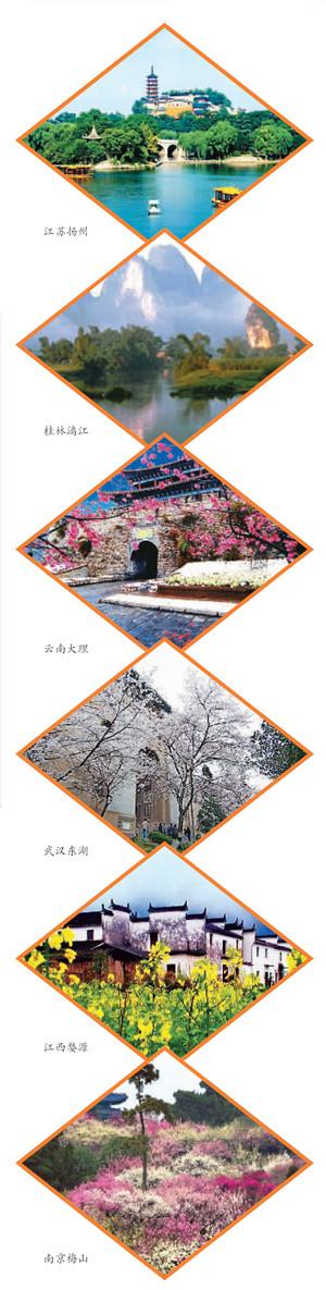 春季出游选这里中国六大踏青胜地(图)