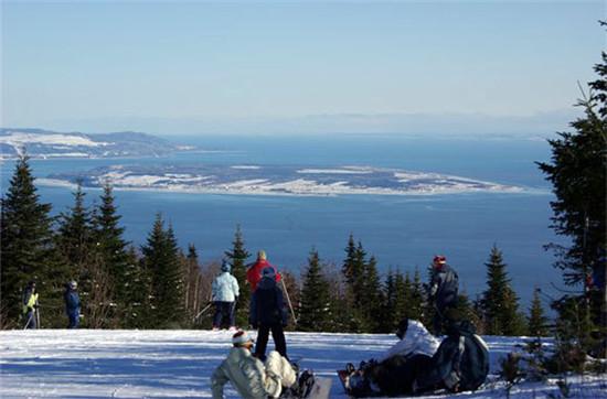 Le Massif de Charlevoix (加拿大)