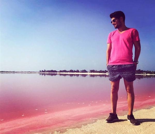 世界唯一粉色沙滩:性感、梦幻