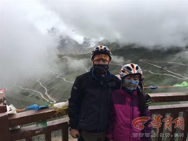 26天2166公里!12岁女孩川藏线骑行:全程不搭车
